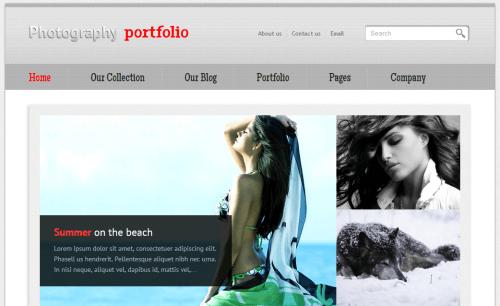 TZ Photography. Шаблон фото-сайта для Joomla 2.5