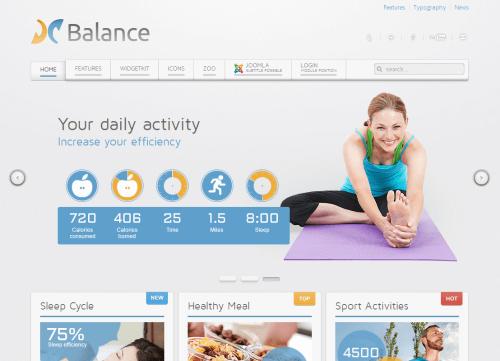 Balance. Универсальный шаблон для Joomla 2.5