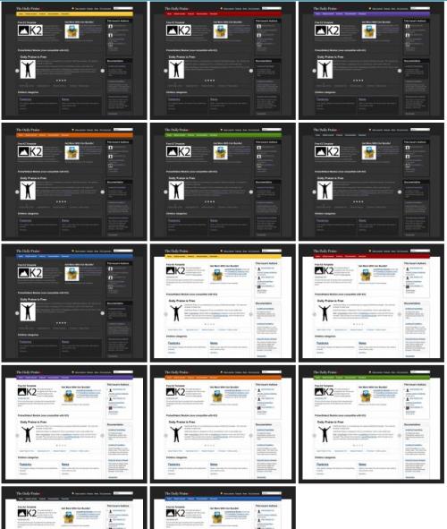 DailyPraise Redux. Легкий универсальный шаблон для Joomla 2.5