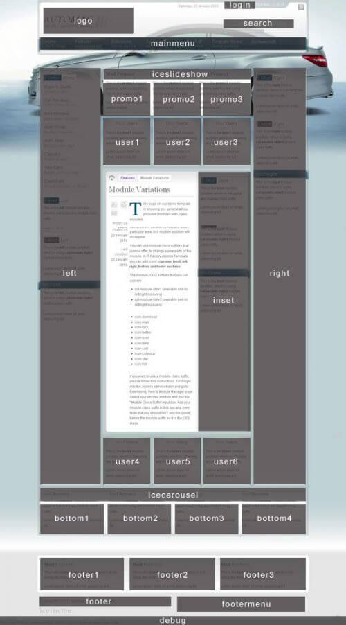 IT AutoMag. Шаблон сайта автомобильной тематики для Joomla 2.5.