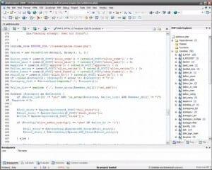 Обзор и настройка программы PhpDesigner