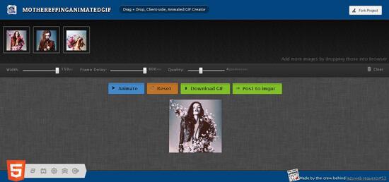 Онлайн сервис для создания GIF изображений