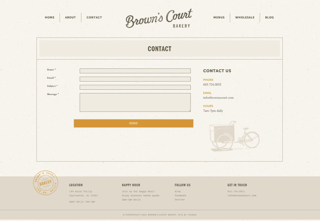 Contact | Brown's Court Bakery