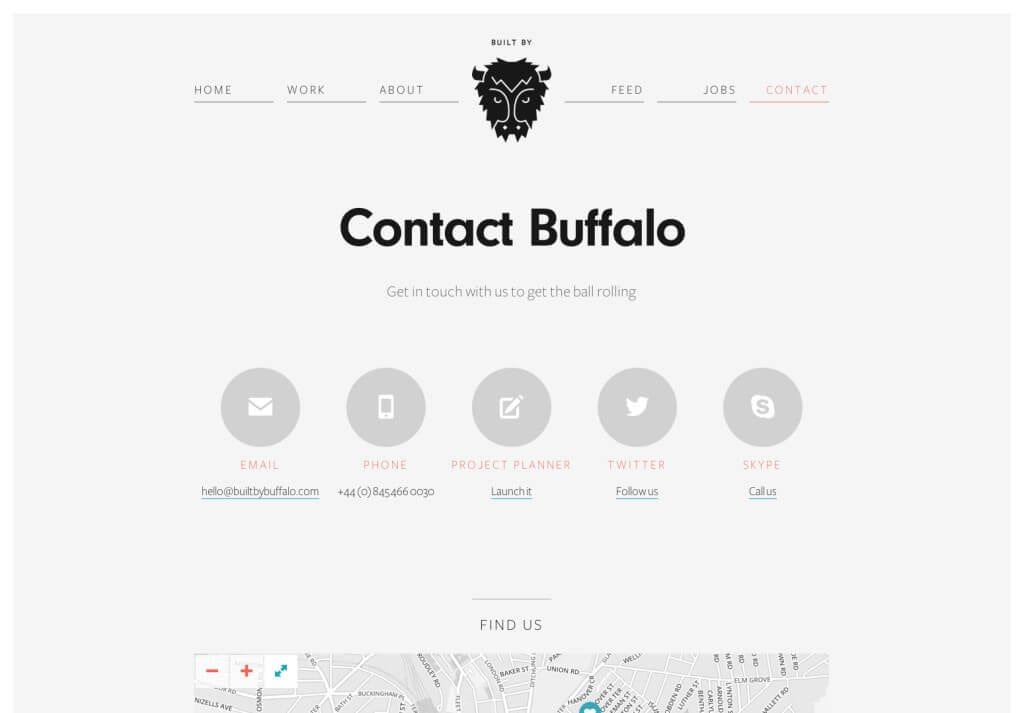Contact Us - Built by Buffalo Web Design