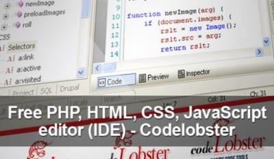 Обзор бесплатного редактора Codelobster PHP Edition