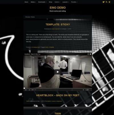 Шаблон WordPress - Eino