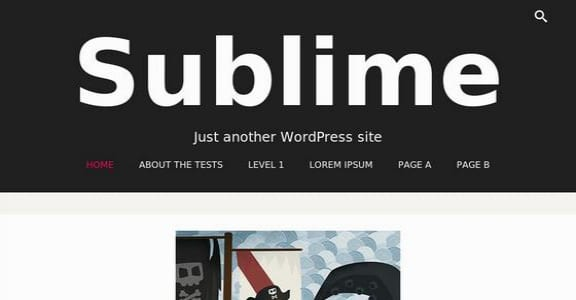 Шаблон Wordpress - Sublime Press