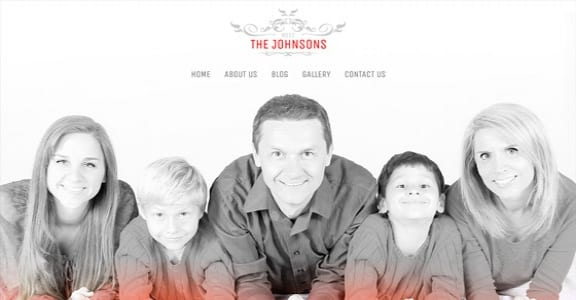 Шаблон Wordpress - The Johnsons