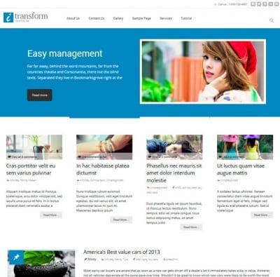 Шаблон WordPress - i-transform