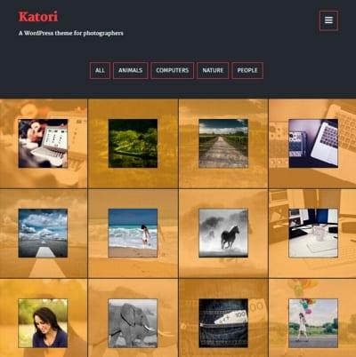 Шаблон WordPress - Katori