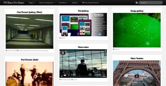 Шаблон Wordpress - PR News