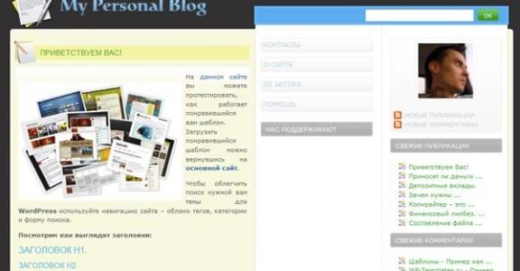 Шаблон Wordpress - Seo Design