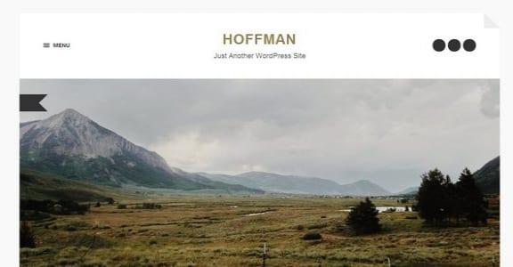 Шаблон Wordpress - Hoffman