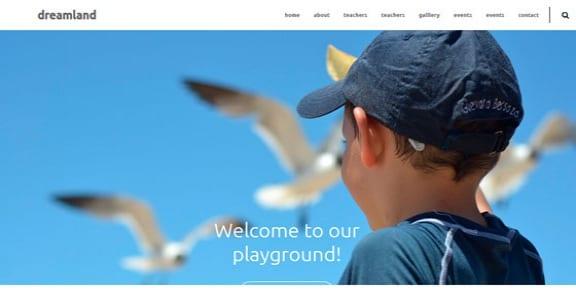 Шаблон Wordpress - Dreamland