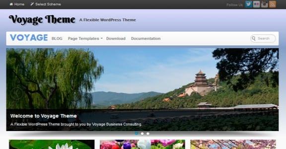 Шаблон Wordpress - Voyage