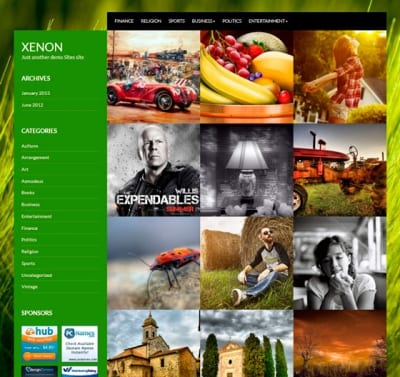 Шаблон WordPress - Xenon