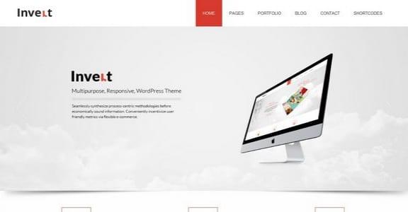 Шаблон Wordpress - Invert