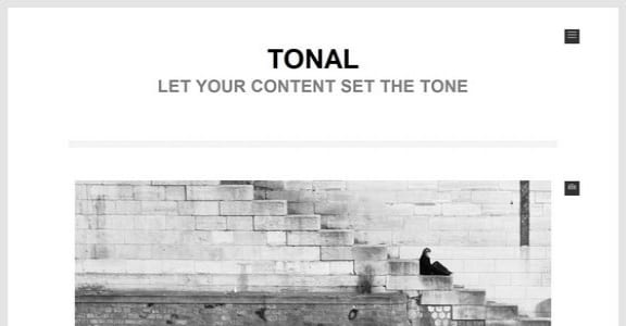 Шаблон Wordpress - Tonal