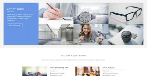 Шаблон Wordpress - Freesia Empire