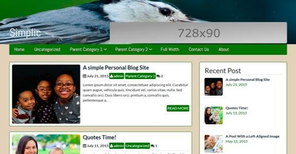 Шаблон Wordpress - icyNETS Simplic
