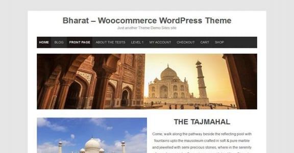 Шаблон Wordpress - Bharat