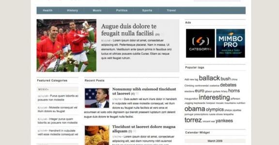 Шаблон Wordpress - Mimbo