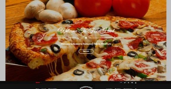 Шаблон Wordpress - FoodHunt