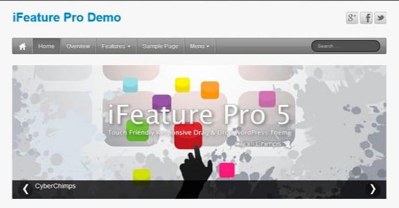 Шаблон Wordpress - iFeature 5