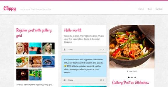 Шаблон Wordpress - Clippy