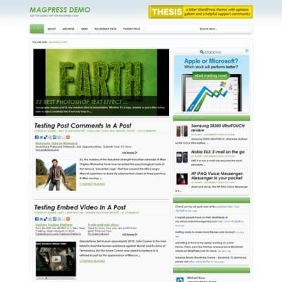 Шаблон WordPress - Ecore