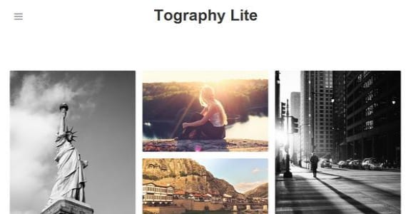 Шаблон Wordpress - Tography Lite