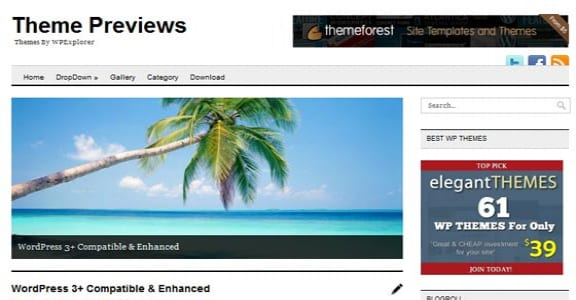 Шаблон Wordpress - Minimo