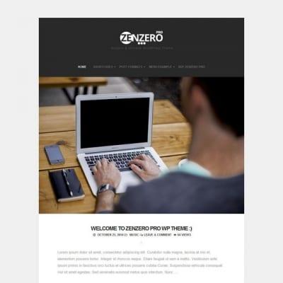 Шаблон WordPress - Zenzero