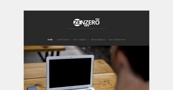 Шаблон Wordpress - Zenzero