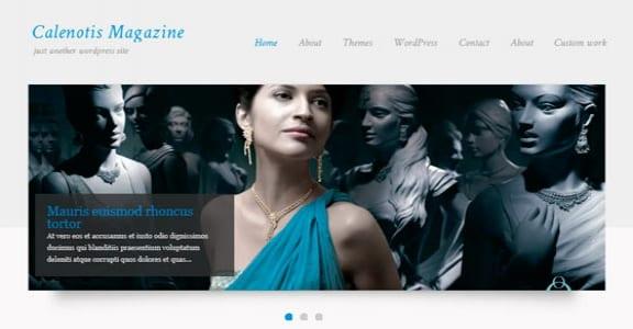 Шаблон Wordpress - CalenotisMagazine