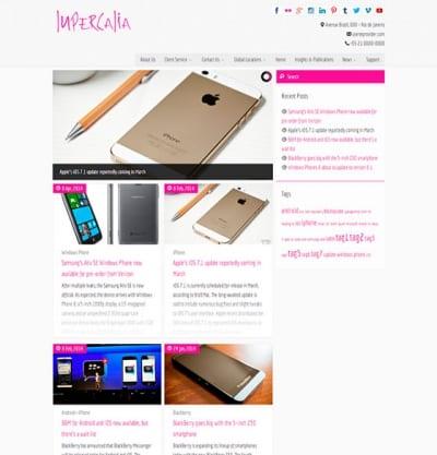 Шаблон WordPress - Lupercalia