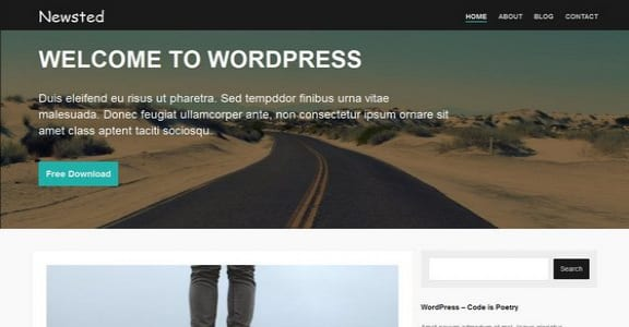 Шаблон Wordpress - Newsted