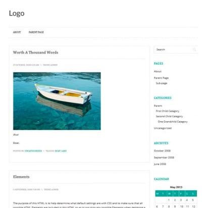 Шаблон WordPress - Prana