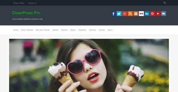 Шаблон Wordpress - CleanPress