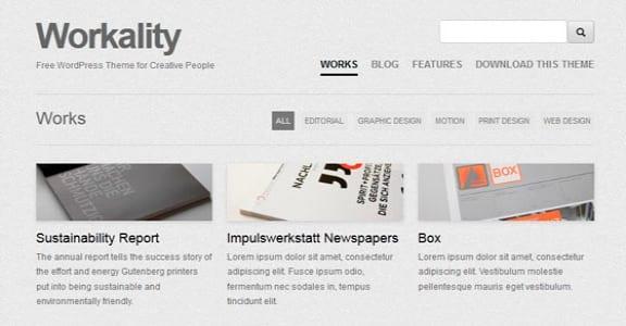 Шаблон Wordpress - Workality
