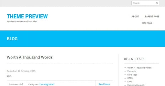 Шаблон Wordpress - Kage