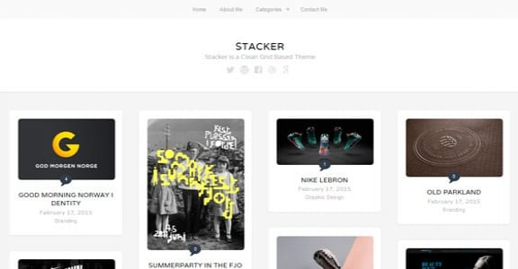 Шаблон Wordpress - Stacker Lite