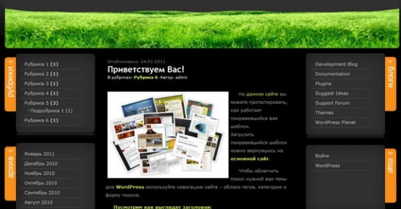 Шаблон Wordpress - BeautyPoem