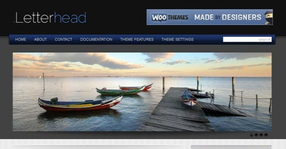 Шаблон Wordpress - Letterhead
