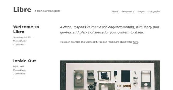 Шаблон Wordpress - Libre