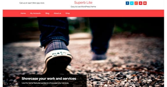 Шаблон Wordpress - Superb Lite