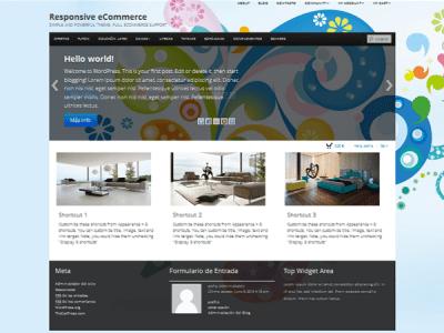Шаблон WordPress - Boot Store