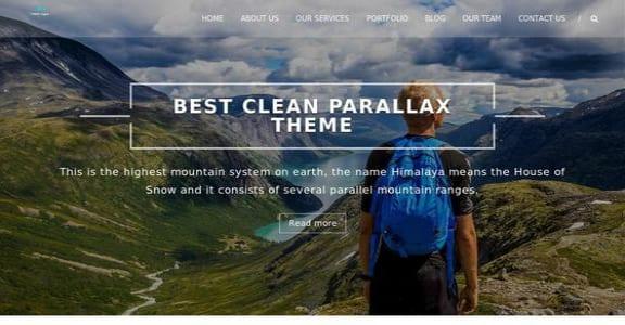 Шаблон Wordpress - Himalayas