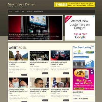 Шаблон WordPress - Minco