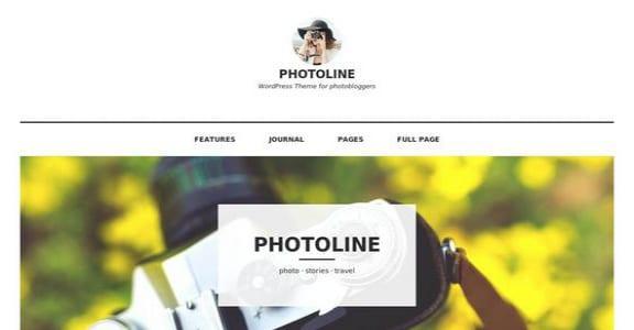 Шаблон Wordpress - Photoline Lite